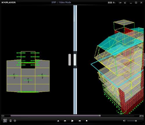 فیلم آموزش مدلسازی سقف عرشه فولادی در ایتبس