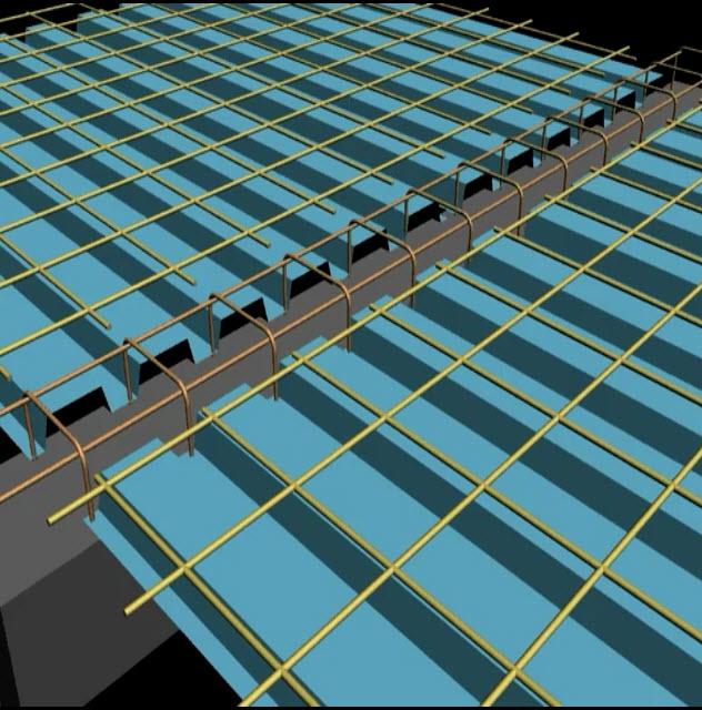 فیلم اجرای سقف عرشه فولادی (متال دک) در ساختمان بتنی