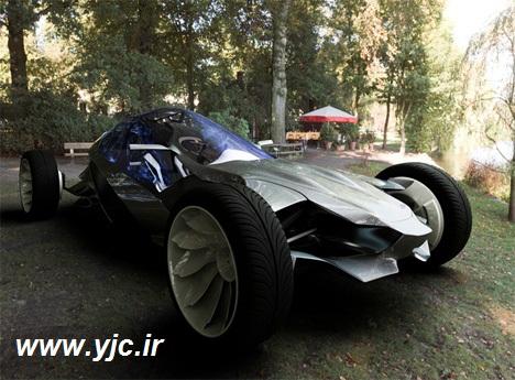 خودرویی که با ورزش شارژ می شود! +عکس