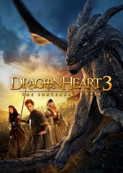 دانلود فیلم Dragonheart 3 The Sorcerer's Curse 2015 با زیرنویس فارسی