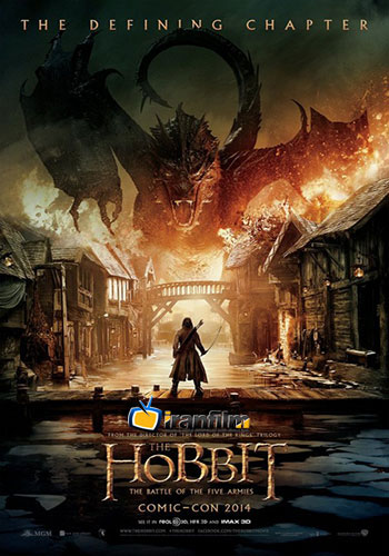 دانلود فیلم ۲۰۱۴ The Hobbit: The Battle of the Five Armies کیفیت ۳D BluRay 1080p