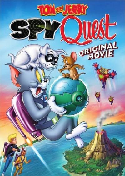 دانلود انیمیشن Tom and Jerry: Spy Quest 2015