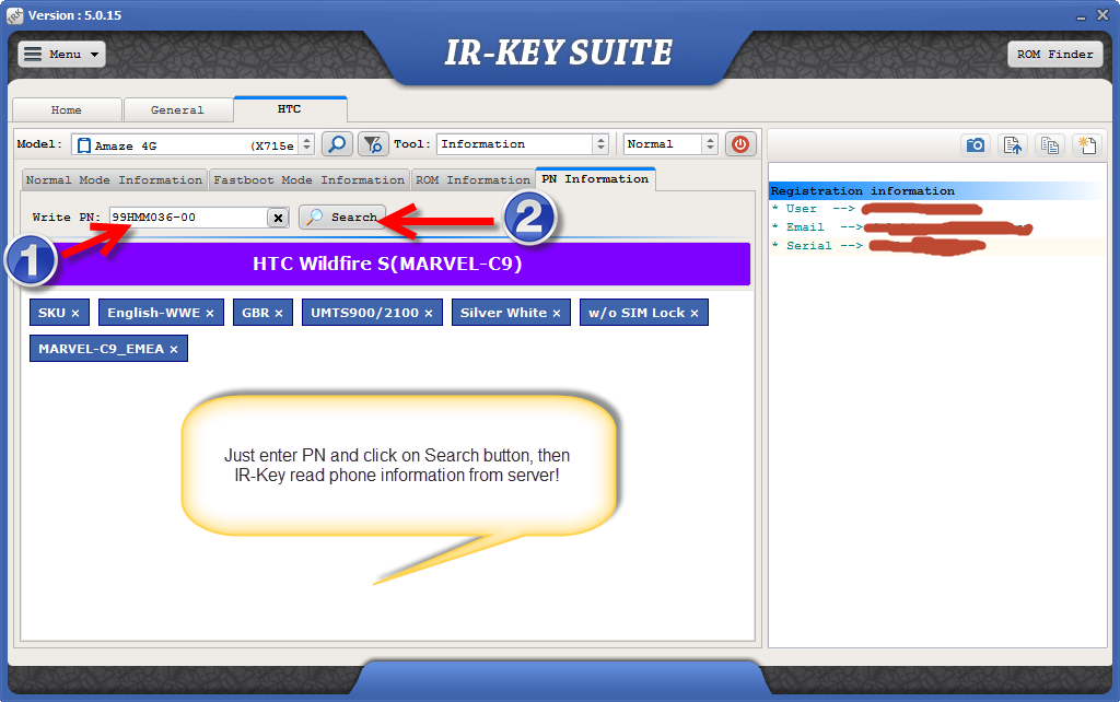 IR-Key Suite 5.0.15 Released(HTC Phone info by PN, sd card dump/restore)