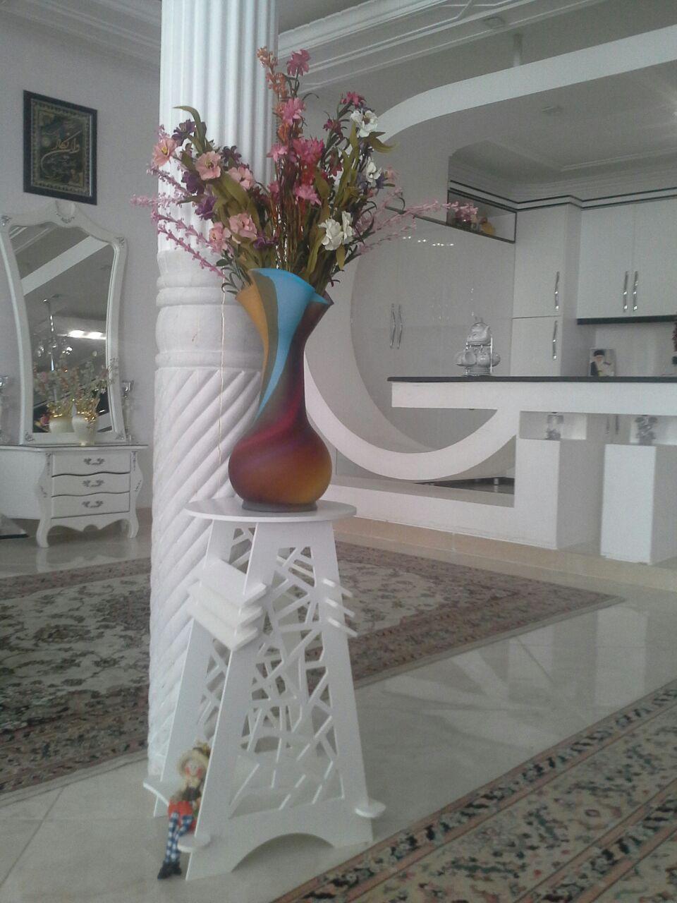 میز زیر گلدانی طرح 2