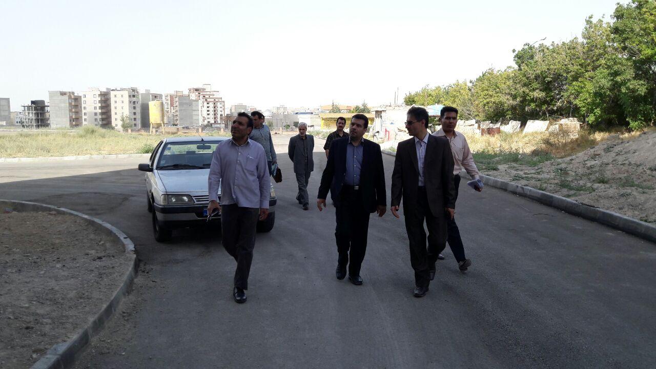 بازدید مدیرعامل موسسه از مجتمع ایثار استان اردبیل