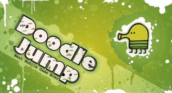 دانلود بازی پرش کم هوش Doodle Jump برای اندروید