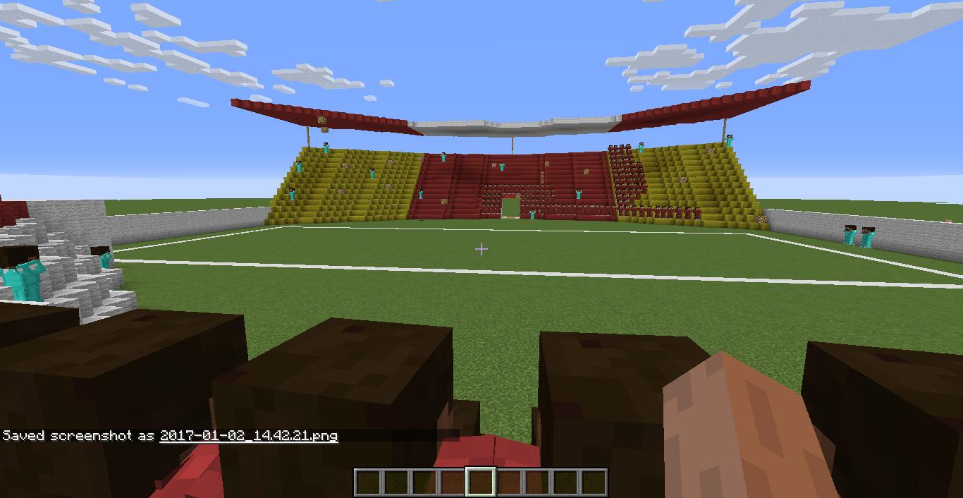 نمایی از استادیوم