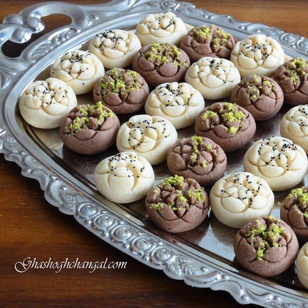 آموزش پخت انواع شیرینی خانگی عید ۹۶