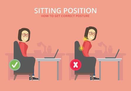 چگونه درست بشینیم