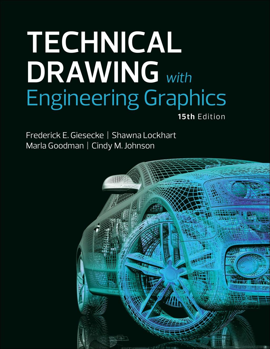 دانلود کتاب جدید ترسیم فنی برای مهندسین Technical Drawing with Engineering Graphics