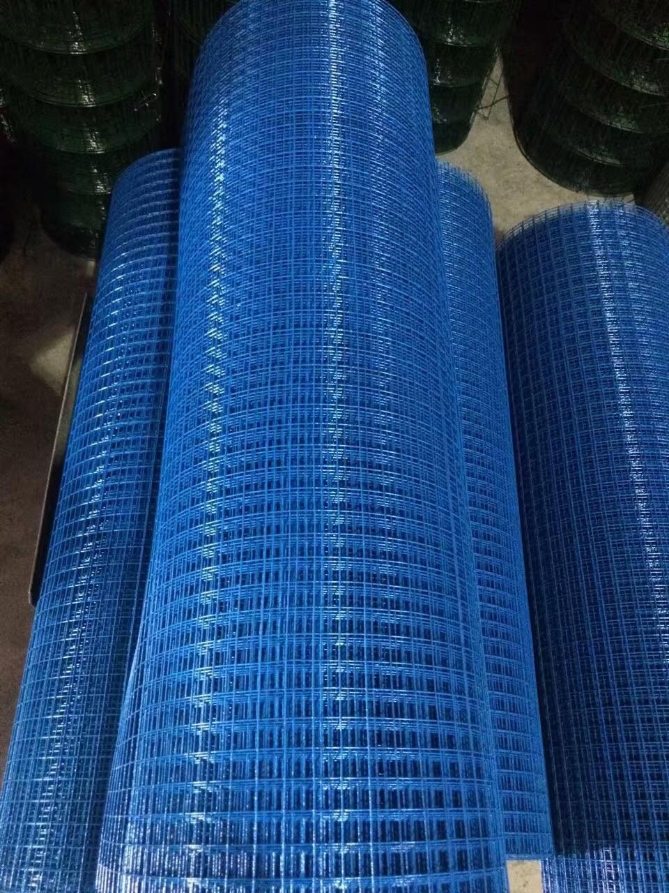 شبکه مش جوش داده شده با روکش PVC